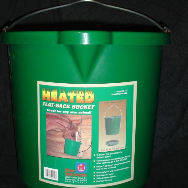 Heated Water Bucket